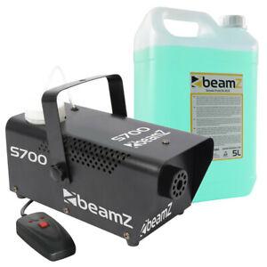 Machine à fumée BeamZ S700 avec 5L de liquide inclus