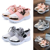 Baby Kids Girls Boys Shoe Toddler Girl Child Sports Running Trainers Shoes Flats
