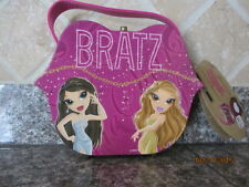 NEW Bratz Lip Case Shaped Purse Girls Handbag Cosmetic Bag Mirror