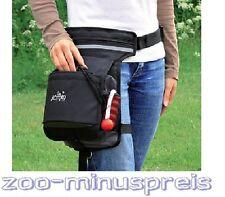 Hunde Snack- und Aufbewahrungstasche - Hüfttasche, 3 Taschen mit Reißverschluss