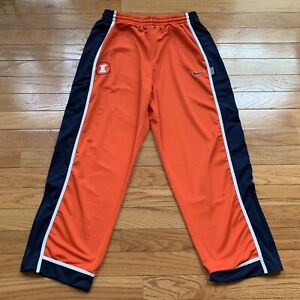 University of Illinois Fighting Illini Vintage Nike DRI-FIT Men's Sweat Pants XL