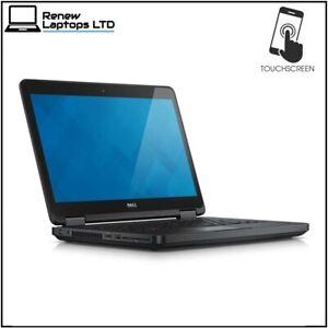 "Dell  E5450 14.1"" Touchscreen Laptop, i5-5200 2.2Ghz, 8Gb RAM, 256Gb SSD, Win 10"