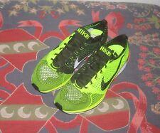 Nike Flyknit Racer Volt Green White HTM Sample USA Promo Size 8