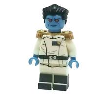 **NEW** Custom Printed Star Wars - GRAND ADMIRAL THRAWN - Rebels Minifigure