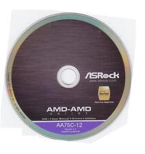 ORIGINALE SCHEDA MADRE ASROCK driver CD DVD fm2a75m-itx * 46 WIN XP VISTA DRIVER NUOVO