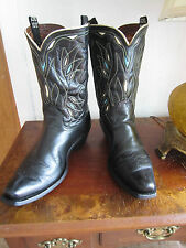Circa 1940's - 1950's ACME PeeWee Shorty Inlay Cowboy Boots - size 10 D Men's