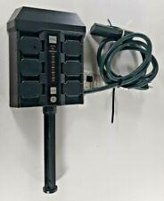 GE intertek 6 plug outdoor Yard Stake 4003187