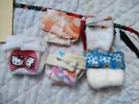 Miniature Boppy pillows for any size miniature doll//hello kitty//other prints