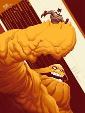 Batman Mudslide Mondo Poster Phantom City Creative Art Print Animated Series LE