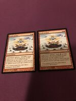 Braid of Fire Coldsnap NM/LP Red Rare MAGIC GATHERING CARD - x2