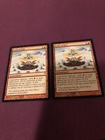 Braid of Fire Coldsnap NM/LP Red Rare MAGIC GATHERING CARD - x2
