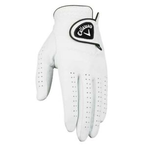 NEW Callaway Dawn Patrol Leather Golf Gloves White - Pick Size, Fit, Quantity!