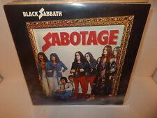 BLACK SABBATH Sabotage Ireland Import 1980 NEL 6018 Super Clean EXC LP