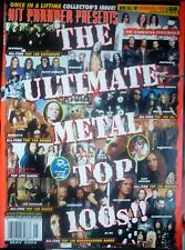 HIT PARADER - The ULTimate Metal Top 100s!! (05/04) Robert Plant, Metallica, And