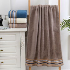 Large 27x 55'' Soft Bath Towel For Bathroom Hotel Bamboo fiber 450g