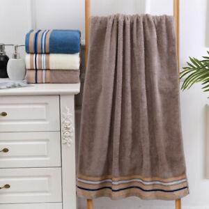 Large 27x 55'' Soft Bath Towel For Bathroom Hotel Bamboo fiber 450g