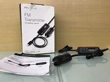 INSIGNIA FM Transmitter Lightning Connector Apple iPhone iPod NS-MA5FMT (I3)