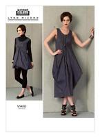 V1410 Vogue 1410 Sewing Pattern Designer Lynn Mizono Drawstring Cinch Dress