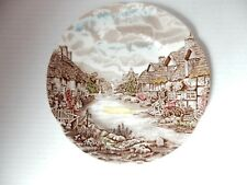Johnson Bros Olde English Countryside Scalloped edges small Plate 8 in. ENGLAND