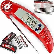 Alpha Grillers Oven Thermometer Instant Read Meat Ultra Fast Tool, Free Shipping