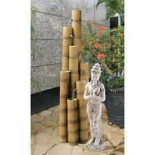 SS8416 - Cascading Bamboo Sculptural Fountain w/Pump