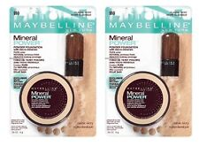 Set of 2 Maybelline Mineral Power Powder Foundation 910 Classic Ivory