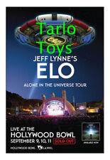 Electric Light Orchestra - Hollywood, Usa 9 september 2016 - concert poster