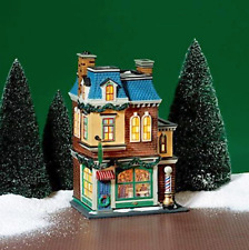 Dept 56 Christmas In The City - Midtown Barbershop 58944 Retired 2004 Brand New