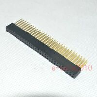 10pcs 2x30 60pin 2.54mm Double Row tall Female stackable Header For Arduino 345B