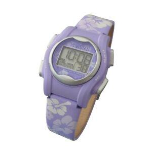 VibraLITE Mini 12-Alarm Vibrating Watch - Purple Flower