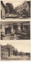 LYGON ARMS  3 x Postcards.  -   BROADWAY  - WORCESTER  ( 58B )