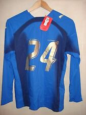 MAGLIA SHIRT ITALIA ITALY PUMA WORLD CUP CHAMPIONS ITALY MATCH ISSUE  2006 L/S