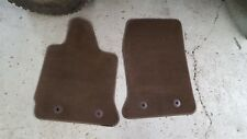 14-16 Corvette C7 FACTORY Floor Mats BROWNSTONE OEM GM USED