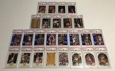 1990's Hoops Fleer basketball cards huge Psa Mint (25) Ct lot Stars Hof Base
