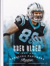 Greg Olsen 2013 PANINI Prestige FOOTBALL FIGURINA, #31