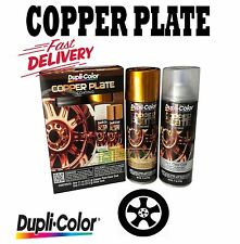 DUPLI COLOR COPPER PLATE™ RIMS WHEELS TRIM CARS TRUCK AUTO SPRAY 2 CAN SYSTEM