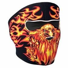 Biker Mask flaming eagle Full face Mask