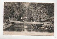 Carte postale MADAGASCAR. Un Pont de Bois. Carte écrite 1906