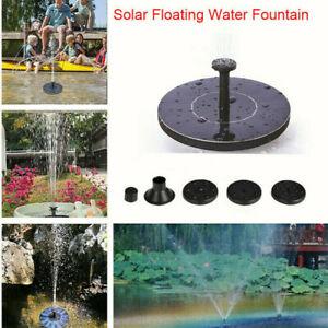 200L/H Solar Panel Powered Water Feature Pump Garden Pool Pond Aquarium Fountain