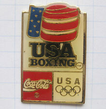 COCA COLA / OLYMPISCHE SPIELE USA BOXING .................. Pin (117d)