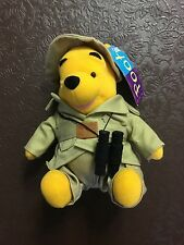 Winnie the Pooh Explorer soft toy - Part of a collection. Brand new with tags