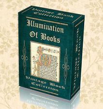 75 Vintage Illuminated Books Manuscript Illumination Art Old Calligraphy DVD 283