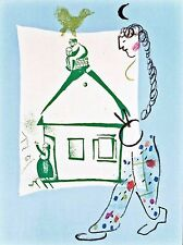 Marc Chagall - House in my Village (M.283) - Original Mourlot Color Lithograph