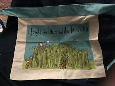 Gardener's Apron Funny I Fought The Lawn And The Lawn Won