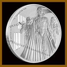Niue Disney Star Wars $2 Dollars Proof Silver Coin, 1 oz 2016 Darth Vader Mint