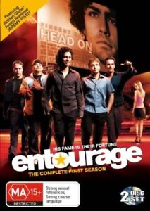 Entourage : Season 1 (DVD 2-Disc Set) Region 4 Very Good Condition