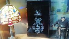 More details for victorian era warwickshire regiment of foot glass crest