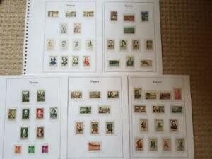 FRANCE-1957/9-NICE MINT COLLN-MANY UNM-INCL BETTER SETS  ETC-CAT c£150