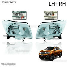 Fit Nissan Frontier Navara NP300 D23 2015 2016 17 Pair Front Head Lamp Light OEM