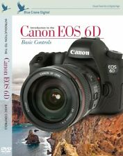 DVD Blue Crane Digital Introduction to The Canon EOS 6D Basic Controls  NEW